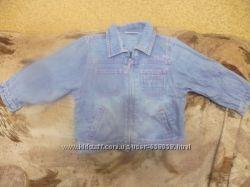 Джинсовая рубашка девочке 1, 5-2 года в отличном состоянии недорого.