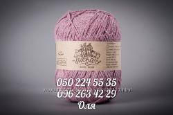 ТМ Vivchari Semi-Wool пряжа полушерстяная