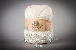 ТМ Vivchari Semi-Wool пряжа полушерстяная с ангорой
