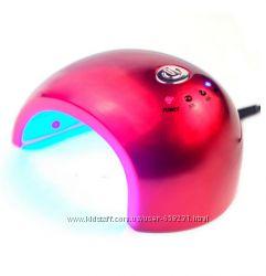 LED Лампа для маникюра 12W с датчиком, 6 ламп