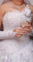 свадебное платье 46 размер, аксессуары