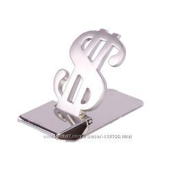 Зажим для денег Silver Dollar