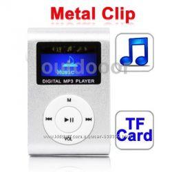 Mp3 плеер c экраном  USB зарядка наушники