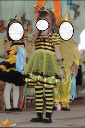 Костюм пчелки, пчелка, пчела на 3, 5- 5 лет