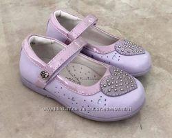 Туфли для девочки сиреневые Флаимнго
