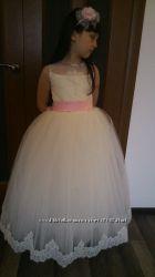 Пышное очень красивое платье для торжества 134