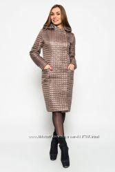 Удлиненная стеганая женская куртка фирмы Prunel 431