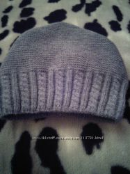 Женская шерстяная шапка
