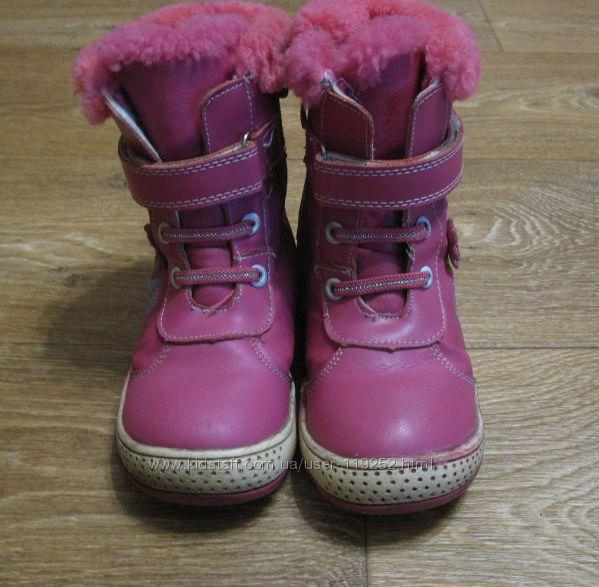 Зимние ботинки на девочку. Стелька 18см