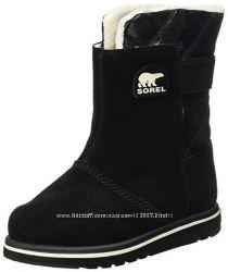 SOREL Rylee - шикарные непромокаемые деми ботинки - 29р - 18, 5см