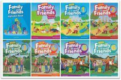 Учебник Family and Friends 1-6 уровень 2nd edition CB  WB