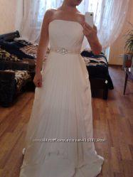 Свадебное платье в греческом стиле. S