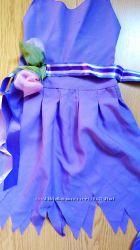 Платье дзинь-дзинь на красотку худышку до 10 лет