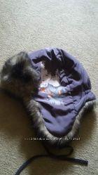 Тёплая зимняя шапочка