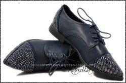 Туфли-лодочки Камни-Стразы dark blue, р. 36-41