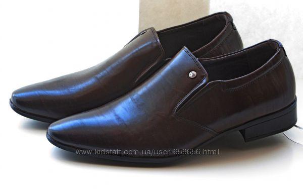 -50 на вторую пару или -90 на третью. Туфли CLOWSE brown, р. 39-44