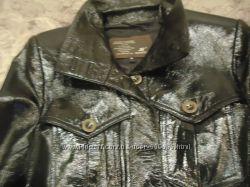 Куртка пиджак кожа лакированная