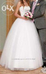 Свадебное платье 40-42 XS-S 34-36