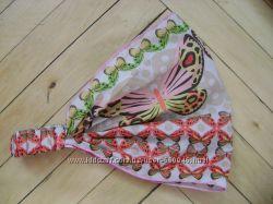 повязка на резинке, шарфы, из хлопка