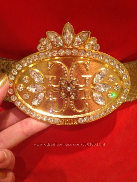 Пояс Gizia золотой корона