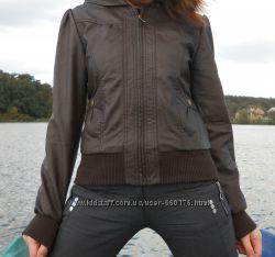 Демисезонная куртка Tally Weijl, коричневая. Оригинал. xs, s