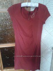 Літнє плаття червоне
