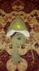 продам шапку и шарфик