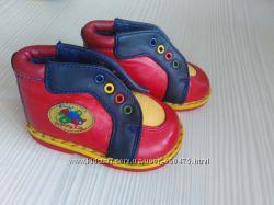Ботинки кожаные 17 размер