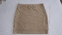 Золотая юбка Н&М
