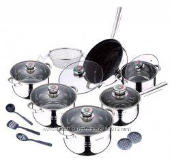 Наборы посуды для кухни, посуда BergHOF, Сook Co, KaiserHoff, SWISS&BOSH, W