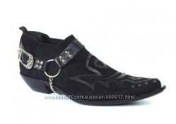 Казаки Etor мужские туфли замшевые на кожаной подошве