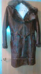 Продам куртку на меху, бу, размер 46