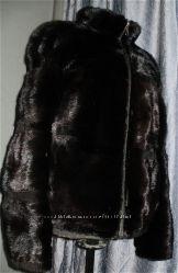 Норковая куртка шуба  Еvropes Finest mink. поперечка 44-46