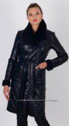 Утепленное пальто 48 размер