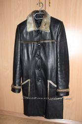 пальто натуральная кожа