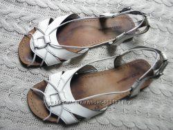 Кожаные сандалии Vero Cuoio 38. 5р.