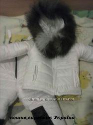 Костюм, зима з натуральною опушкою