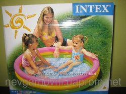 Надувной бассейн радуга
