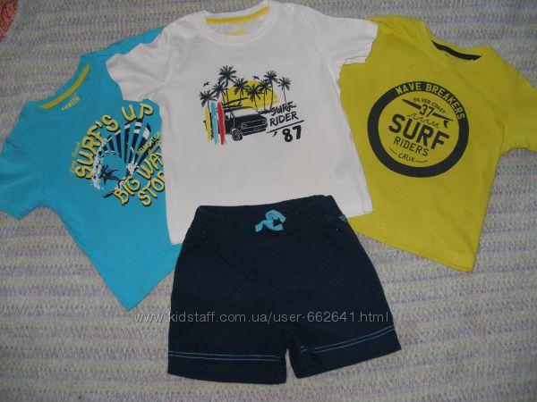 Комплект из 3 футболок lupilu р. 98104