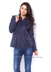 Куртка, ветровка без утеплителя, наш размер 48 М. Без капюшона, на молнии