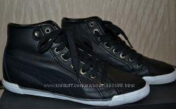 Кроссовки кеды Puma утепленные, кожа, размер 38  38, 5, состояние новых.