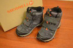 Зимние термо ботинки Merrel 27 размер, в отличном состоянии
