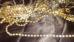 Стразы на ленте для сутажной вышивки и декора
