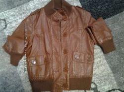 Кожаная куртка S-M