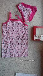 Набор белье майка и трусы подарочная упаковка 98-104