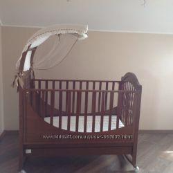Детская итальянская кроватка Piccolino
