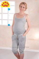 Стильная пижама для беременных и кормящих