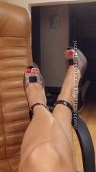 Элегантные туфли-босоножки
