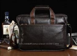 В наличии. Мужская сумка Bostanten из натуральной кожи
