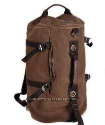 В наличии Новый брезентовый рюкзак, сумка
